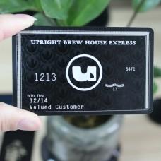 carte cadeaux utilisation et matériel métal haute qualité nommée namecard/buiness carte/promotion