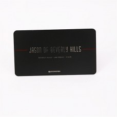 Noir mat métallique porte-cartes