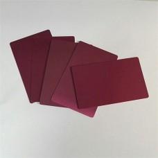 0.22MM Thinkness Aluminum Business Blank  Purple CardAluminum Card